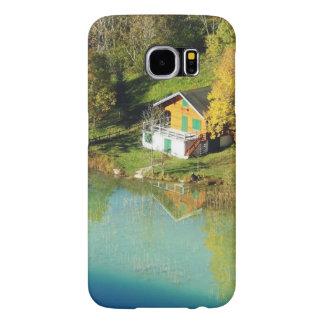 Coque Samsung S6 Galaxy motif chalet