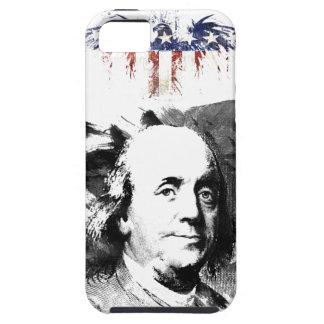 Coque Tough iPhone 5 Benjamin Franklin