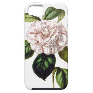 Coque Tough iPhone 5 Cas de l'iPhone 5/5s de Se d'iPhone de fleur de