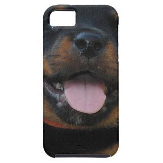 Coque Tough iPhone 5 chiot de rottweiler