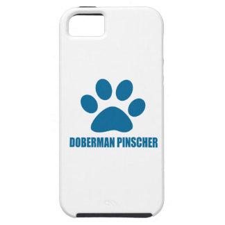 COQUE TOUGH iPhone 5 CONCEPTIONS DE CHIEN DE PINSCHER DE DOBERMANN