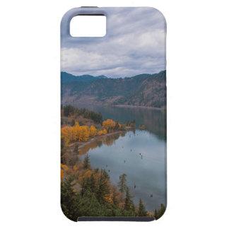 Coque Tough iPhone 5 Couleur de chute le long de gorge Orégon du fleuve