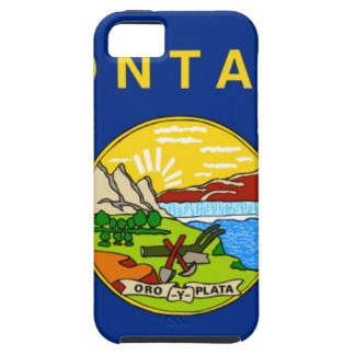 Coque Tough iPhone 5 Drapeau du Montana