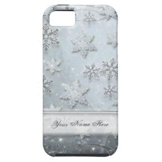 Coque Tough iPhone 5 Flocons de neige sur la glace