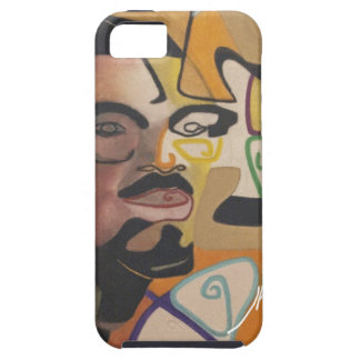 Coque Tough iPhone 5 Freedom fighter - Lumumba by J. Kabinda