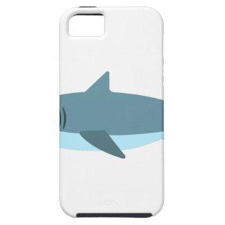 Coque Tough iPhone 5 Grand style de primitif de requin blanc