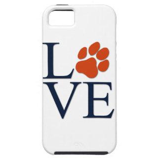 Coque Tough iPhone 5 iphone 5 ou amour de chiot de cas du téléphone 5s
