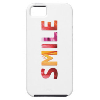 Coque Tough iPhone 5 Juste citation heureuse 04 de sourire