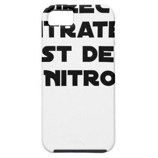 Coque Tough iPhone 5 La Directive Nitrates, c'est de la Nitro - Jeux de