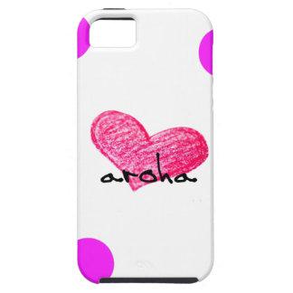 Coque Tough iPhone 5 Langue maorie de conception d'amour