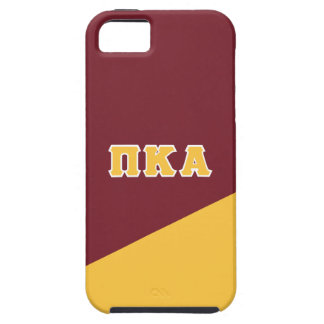 Coque Tough iPhone 5 Lettres de Grec de l'alpha | de Kappa de pi
