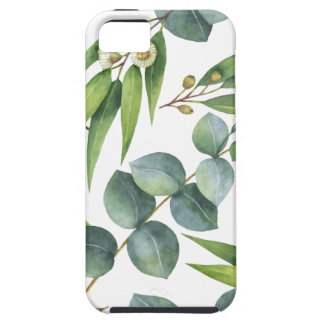 Coque Tough iPhone 5 Motif de feuillage d'eucalyptus