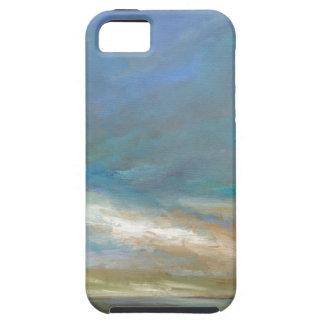 Coque Tough iPhone 5 Nuages côtiers avec l'océan