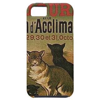 Coque Tough iPhone 5 Publicité française vintage - chats