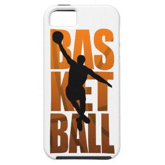 Coque Tough iPhone 5 Sauter de Basketballer de joueur de basket