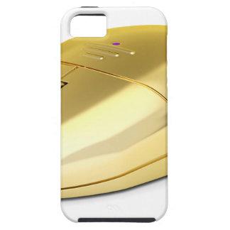 Coque Tough iPhone 5 Souris sans fil d'or