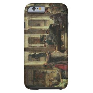 Coque Tough iPhone 6 Amant d'art romain d'Alma-Tadema  , 1870