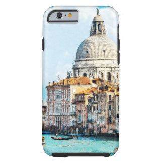 Coque Tough iPhone 6 Aquarelle assez chic de pastel de canal de