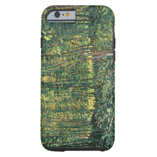 Coque Tough iPhone 6 Arbres de Vincent van Gogh | et broussaille, 1887