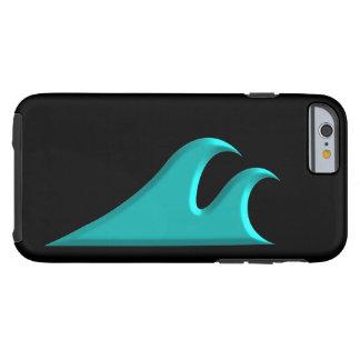 Coque Tough iPhone 6 Attrapez un surf de cool de vague