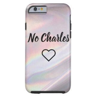 Coque Tough iPhone 6 Aucun Charles IPhone 6 et cas 6s