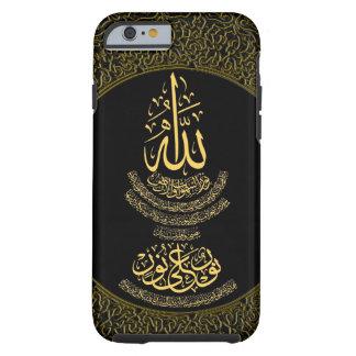Coque Tough iPhone 6 calligraphie islamique d'an-Nur du cas w/Ayat de