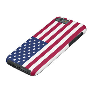 Coque Tough iPhone 6 Cas de l'iPhone 6 de drapeau américain