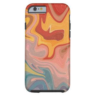 Coque Tough iPhone 6 Cas de marbre de téléphone