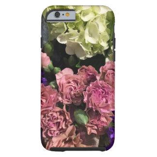 Coque Tough iPhone 6 Cas de téléphone de bouquet floral