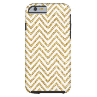Coque Tough iPhone 6 Cas dur de l'iPhone 6 de chevrons Girly de