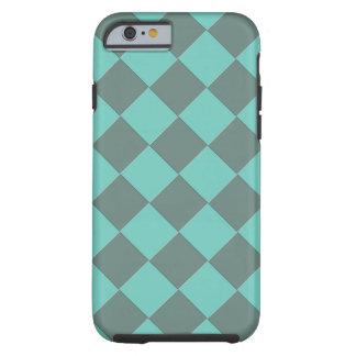 Coque Tough iPhone 6 Contrôleurs colorés - menthe d'Aqua