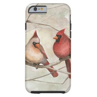 "Coque Tough iPhone 6 ""Coque iphone cardinal sur membre"""