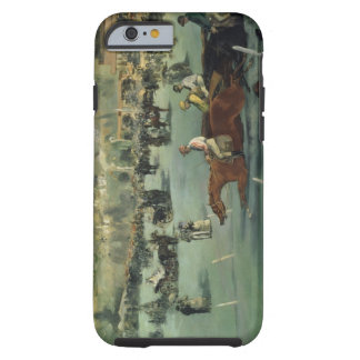 Coque Tough iPhone 6 Course de chevaux de Manet |, 1872