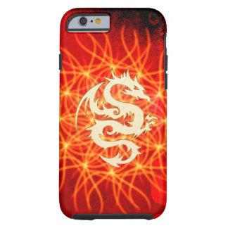 Coque Tough iPhone 6 Dragon d'or merveilleux