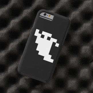 Coque Tough iPhone 6 Fantôme de pixel de 8 bits