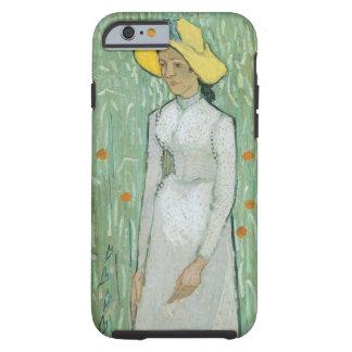 Coque Tough iPhone 6 Fille de Vincent van Gogh | dans le blanc, 1890