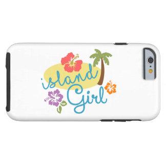 Coque Tough iPhone 6 Fille d'île