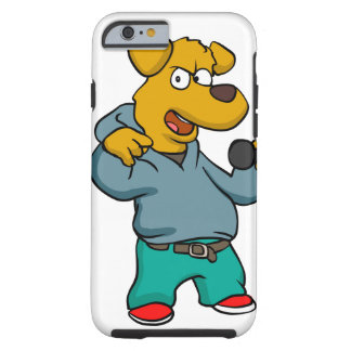 Coque Tough iPhone 6 Frappeur de chien jaune