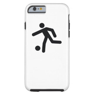 Coque Tough iPhone 6 Icône fraîche de sport du FOOTBALL |