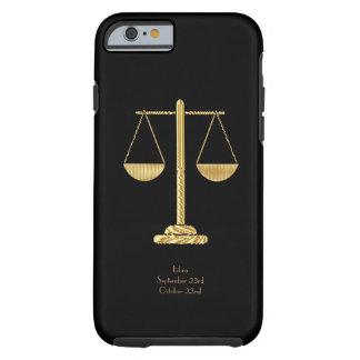 Coque Tough iPhone 6 iPHONE 6 de la BALANCE STARSIGN À PEINE LÀ