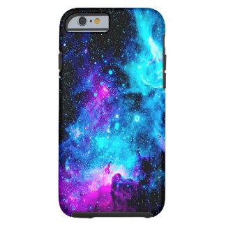 Coque Tough iPhone 6 La galaxie de nébuleuse tient le premier rôle la