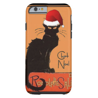 Coque Tough iPhone 6 Le Chat Noel