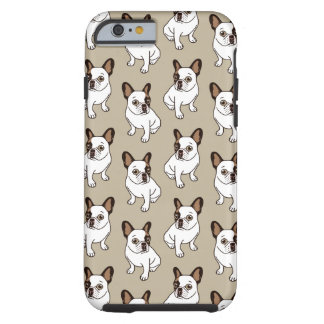 Coque Tough iPhone 6 Le faon adorable Frenchie pie