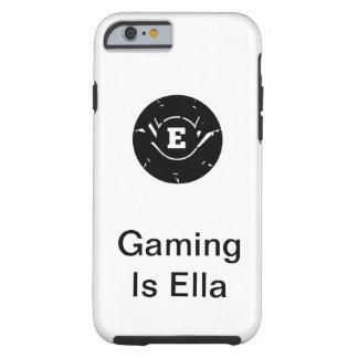 Coque Tough iPhone 6 Le jeu est cas de téléphone d'Ella