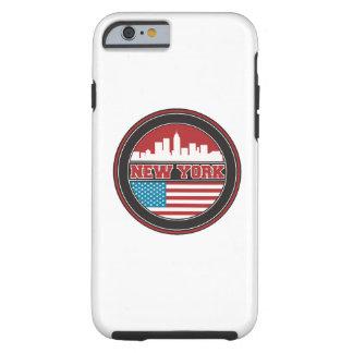 Coque Tough iPhone 6 L'horizon | Etats-Unis de New York diminuent