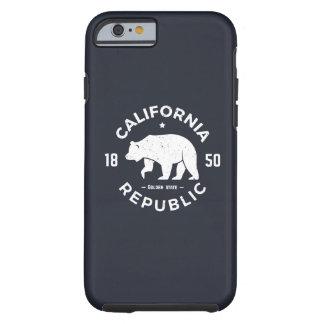 Coque Tough iPhone 6 Logo | de la Californie le Golden State