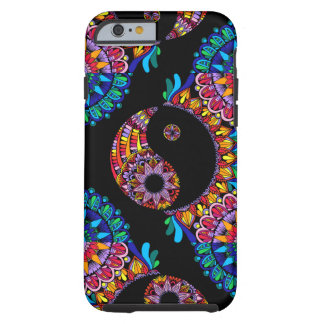 Coque Tough iPhone 6 Mandala de Yin Yang