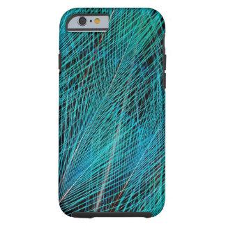 Coque Tough iPhone 6 Oiseau bleu des plumes de paradis