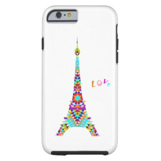 Coque Tough iPhone 6 PARIS love