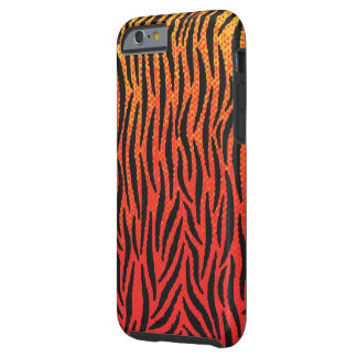 Coque Tough iPhone 6 Peau de tigre